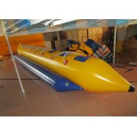 Quality Water Games Inflatable Banana Boat , lake & Seashore Inflatable Flying Fish 6.4 X 1.31m for sale