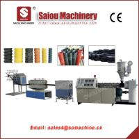 Quality TSG100 TSG250 plastic machine PP PE carbon spiral pipe production line for sale