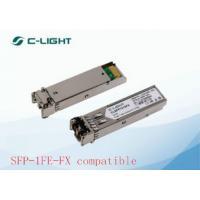 China 2km Multi Mode JUNIPER SFP Modules / Dulplex LC Optical Transceiver Module for sale