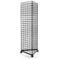 Quality Customized Design Wall Display Rack , 3 Sided Metal Display Racks And Stands for sale