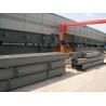Prefabricate Steel H Beam , Galvanized H Type Steel Beam for sale