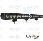 Quality 260W led working light bar, cree led work light suitable for 24V truck light,singlerow bar for sale