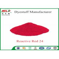 Quality ISO9001 Clothes Color Dye Natural Clothing Dye C I Red 24 Reactive Red P-2B for sale