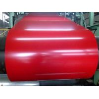 Customized Red or Blue Color Prepainted Galvanized Steel Coil For workshop , door