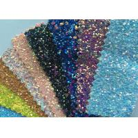 Fashion Chunky Glitter Fabric 3D Glitter Fabric For Hairbows 54/55