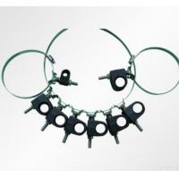 Quality Throat Hoop Ss304 Single Hole Cable Feeder Clamp for sale