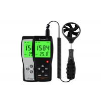 China Poratble Wind Speed Measuring Device Anemometer Gauge With LCD Back Light for sale