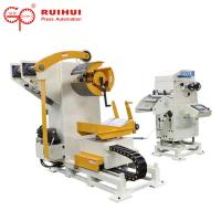 Quality Auto stainless coil steel Metal Sheet Straightening Machine 400mm for sale