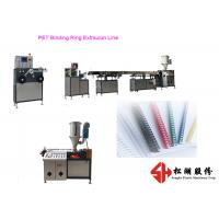 Quality Plastic PET PVC Binding Ring Plastic Strapping Band Making Machine With Precise Extrusion Technology for sale