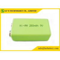 China 9V 280mah Prismatic Nimh Battery / 6F22 9v Battery High Energy Density on sale