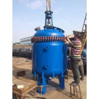 Quality F Type 2500L-30000L Glass Lined Reactor Glass lined Reaction Tank Reaction kettle for sale
