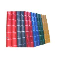 Buy cheap Waterproof Performance Corrugated Pvc Plastic Synthetic Resin Roof Tile from wholesalers