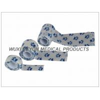 Buy Printed Cohesive Elastic Bandage Paw Prints Vet Wrap Fix Dressing Cold Hot Packs at wholesale prices