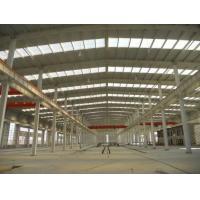 China Prefab Steel Workshop Steel Buildings Q235 C Channel Or Z Channel for sale