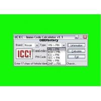 Quality Original ICC IMMO Calculator, Automotive Diagnostic Software for Nissan and Infinity for sale