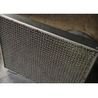 Quality 304 Stainless Steel Mesh Gas Liquid Filter Corrosion / High Temperature Resistance for sale
