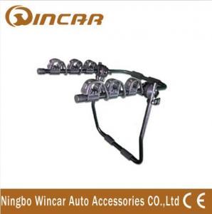 China Aluminium Alloy Trunk Mounted Bike Carrier / Bike Rack Rear Door Mounted on sale
