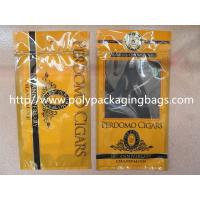 Plastic Cigarettes Cigar Humidor Bags With Hanger Hole Personalized Style