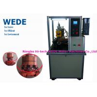 China Failure Monitoring Armature Welding Machine Single Head Hotstackng With Cooling System on sale