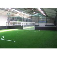 China Eco Friendly Synthetic Artificial Grass / Indoor Football Turf  20GP Loading 2800 - 3200 ㎡ on sale