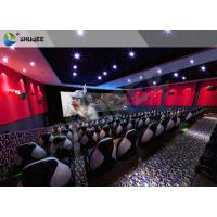 Quality Futuristic Cinema 5D Cinema Equipment Trealistic Effects , Entertainment for sale
