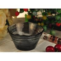 Quality wedding table decorations colored glass tealight candle holder bowl for sale
