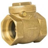 Professional Brass Core Brass Swing Check Valve CW617 CW602 1/2-4 Inch for sale