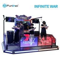 Buy cheap Interactive VR Shooting Simulator With 360° Full View VR Headset On from wholesalers
