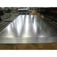 Quality Zero Spangle Hot Dipped Galvanized Steel Sheet , Anti-Finger Treatment ( Acrylic coating ) for sale
