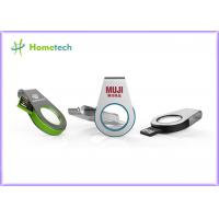 Buy cheap Mini Size Metal / Acrylic Swivel USB Flash Drive Recorder Support USB 2.0 With LED Light from wholesalers