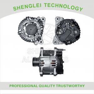 Quality Clutch Pulley Type Volkswagen Car Alternator , OEM 0124525010 Volkswagen Generator for sale