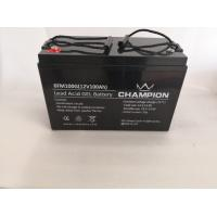 China Fully Charged Gel Power Battery , Electric Car 12 Volt Gel Cell Deep Cycle Battery on sale