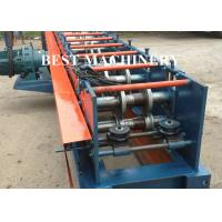 Quality Beam Rack Roll Forming Machine 80 - 120 Locking Type  Box 4m/min - 6m/min Speed for sale