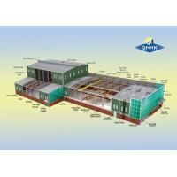 Pre - Engineered Building Workshop Steel Structure Light Steel Prefab Metal Workshop for sale