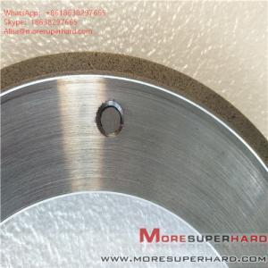 Quality 164*6*105*3*3 Metal Bond Diamond Grinding Wheel for Glass Machine ALisa@moresuperhard.com for sale