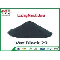 Quality High Stability Cotton Fabric Dye Permanent Vat Gray BG C I Vat Black 29 for sale