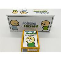 Buy cheap English Version Joking Hazard Card Games For Grown Ups Easy Operation from wholesalers