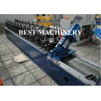 Quality Wall Ceiling Channel Roll Forming Machine Light Steel Keel Omega BV / SGS for sale