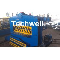 Quality CE Approved Cold Roll Forming Machine , Metal Roof Bending Machine With Adjustable Speed for sale