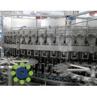 Quality 15KW Carbonated Soft Drink PET or Glass Bottle monoblock rinsing filling capping machine for sale