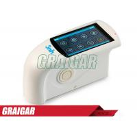Quality Mini HG268 Analyzer Instrument Tri Angle Gloss Meter In White for sale