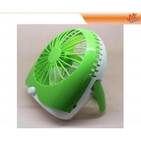 Quality Mini And Portable 500mA Computer Desk Fan, Laptop USB Cooling Fan With Logo for sale