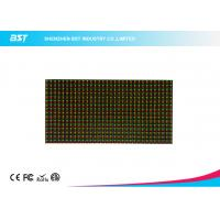 Quality 16 x 32 Dots 10mm Pixel Pitch 1R1G Led Display Module dual color 1/4 Scan Driving for sale