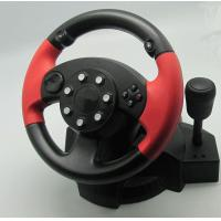 Small USB Vibration PC Game Racing Wheel Pc Steering Wheel And Pedals