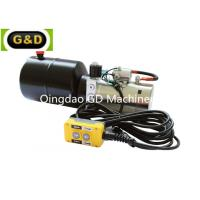 China Horizontal Mounting DC 12V Hydraulic Power Unit with Manual Override for sale