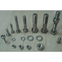 Quality A453 Gr 660 fasteners STUD BOLT WITH TWO HEAVY HEX NUTS for sale