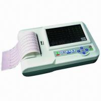 Quality Resting ECG Machine (ecg-600g), Touchscreen for Easy Operation for sale