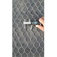 Quality good quality  ss316 knotted  rope mesh for sale