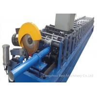 Quality High Technology GGPI Down Spout Roll Forming Machine 9mx1.4mx1.4m Dimension for sale
