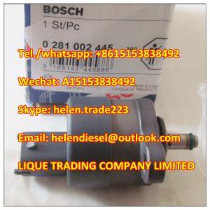 Quality 100% Original BOSCH  pressure valve 0281002445 , 0 281 002 445, 31402-27000,16938, genuine DRV,replace 31402-27010 for sale